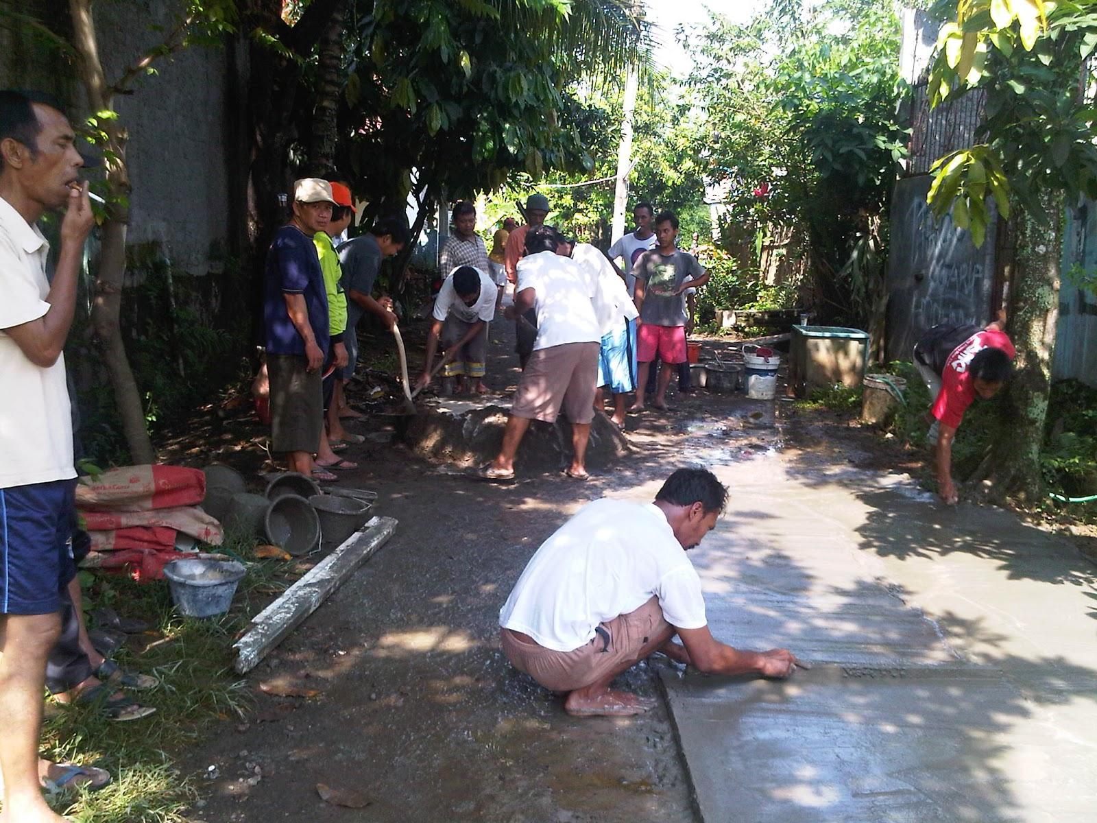 Contoh Proposal Perbaikan Jalan Lingkungan Perumahan Desa ...