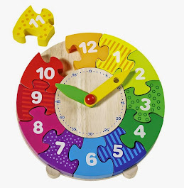 Puzzle Zegar