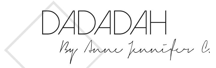 Dadadah (by Anne Jennifer)
