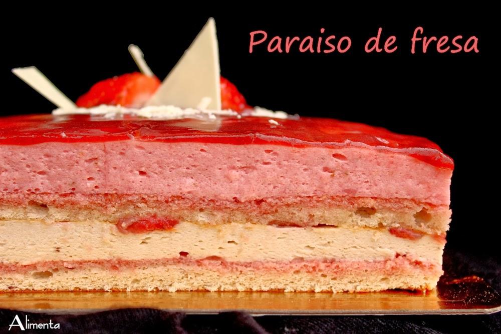 TARTA PARAÍSO DE FRESA 2