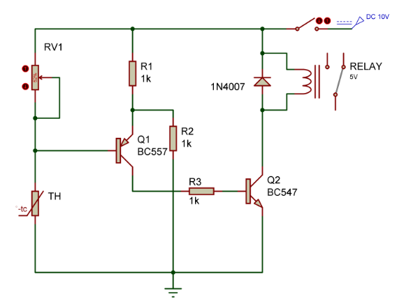 temperature-sensor-relay-thermistor-circuit