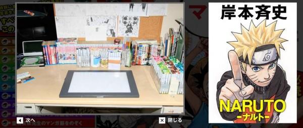 Meja Gambar Masashi Kishimoto