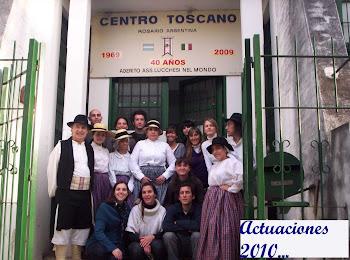 Colaboración con el Centro Toscano de Rosario (Italia)