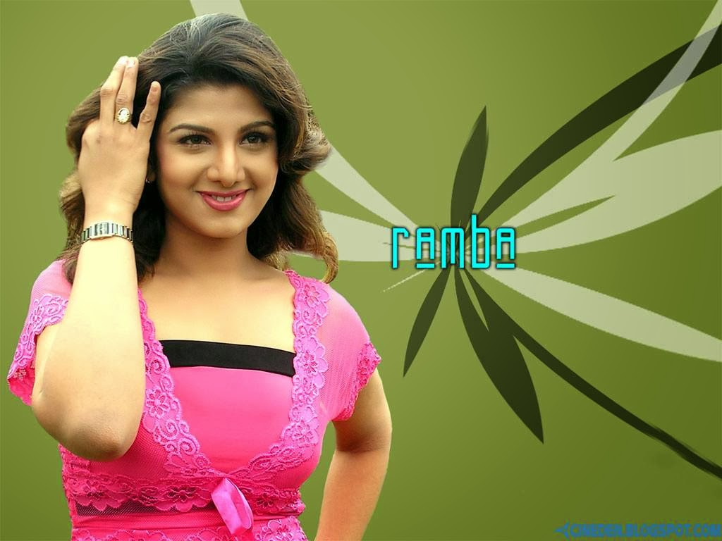 Rambha making a comeback - CineDen