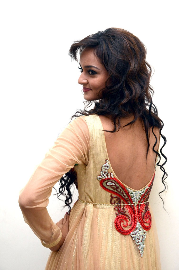 Shanvi Srivastava Exposing Cleavages Sexy Legs navel and nude back Portfolio Pics