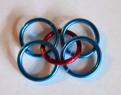 hacer pulseras con cadenas
