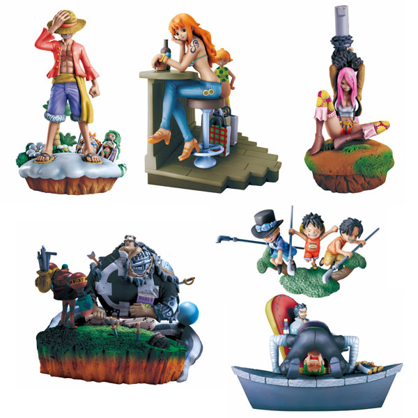 One Piece Log Box set