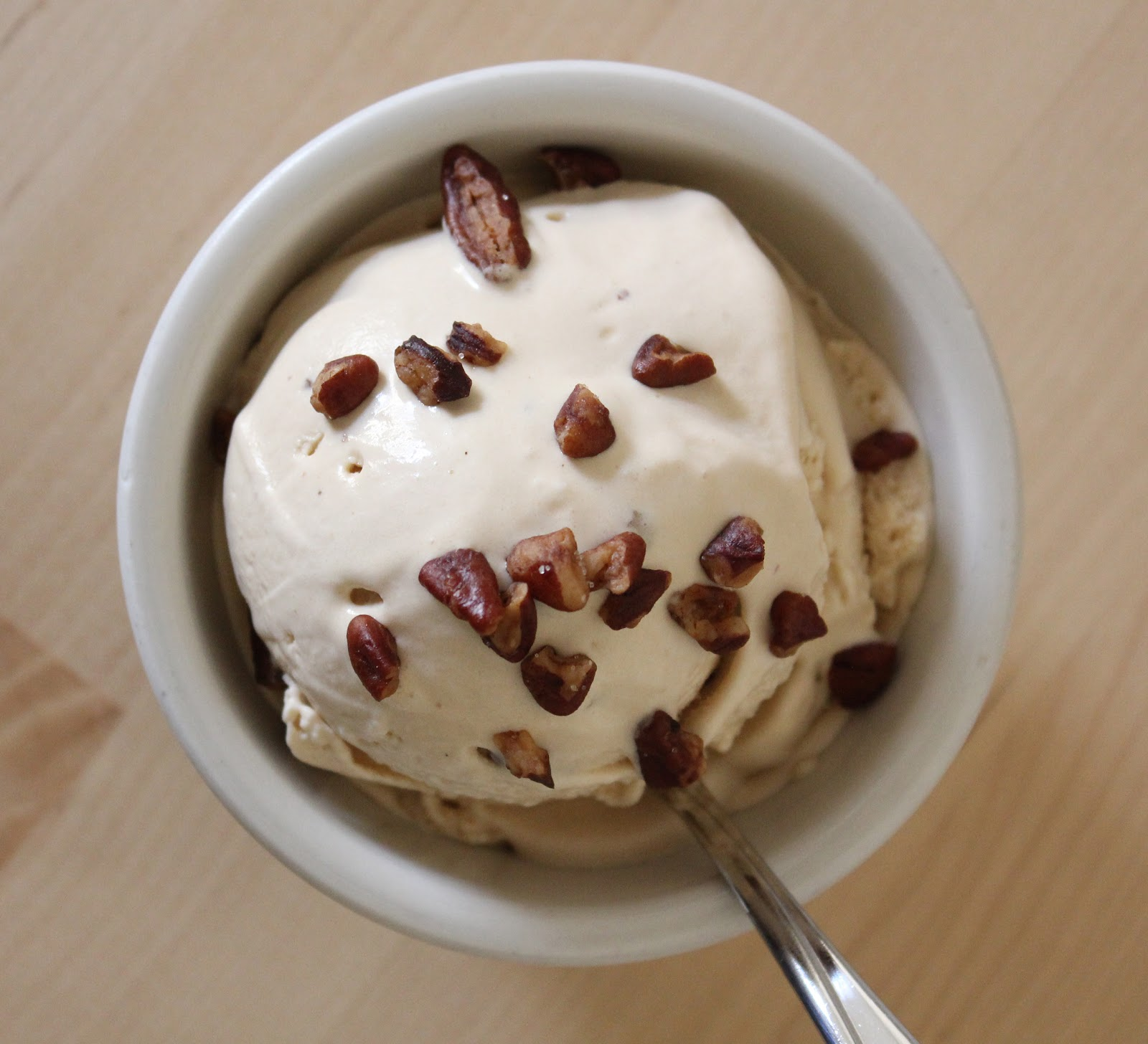 Life Made Simple: Butterscotch Pecan Ice Cream- It's to ...