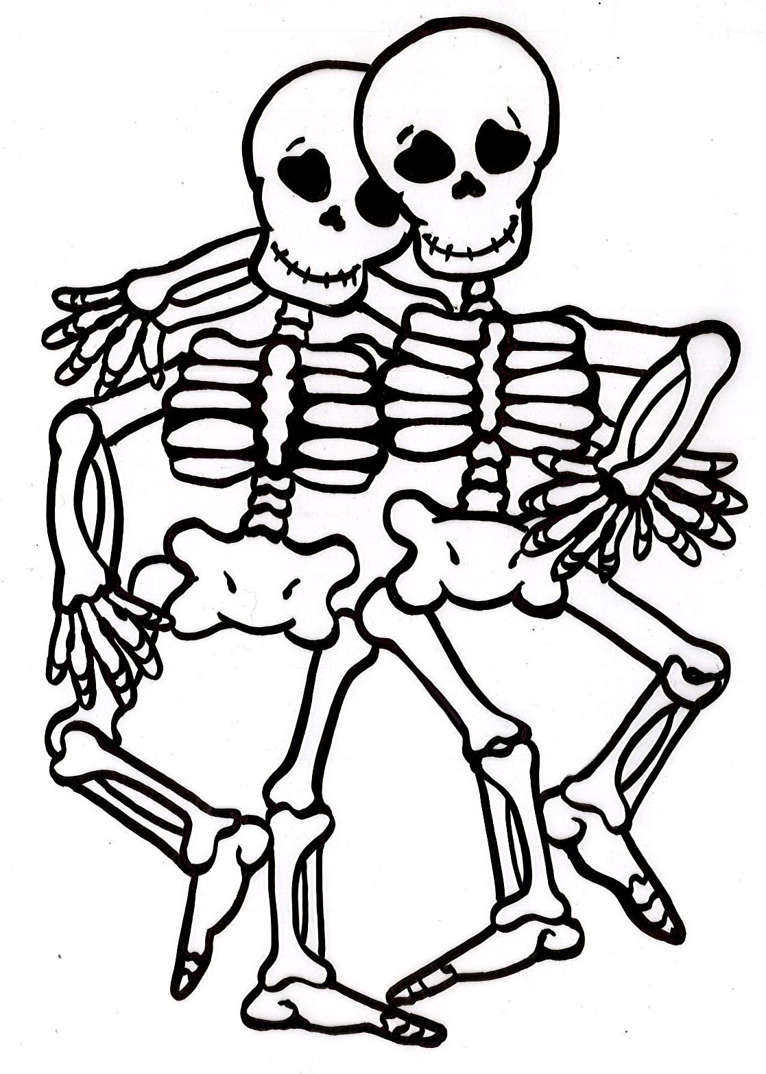 Dibujos Para Colorear De Esqueletos De Dinosaurios ~ Ideas Creativas ...