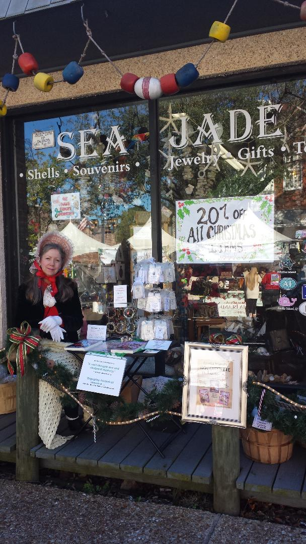 SEA JADE Souvenirs is the OFFICIAL HOME of Amelia Island's GOODBYE LIE  by Jane Marie Malcolm