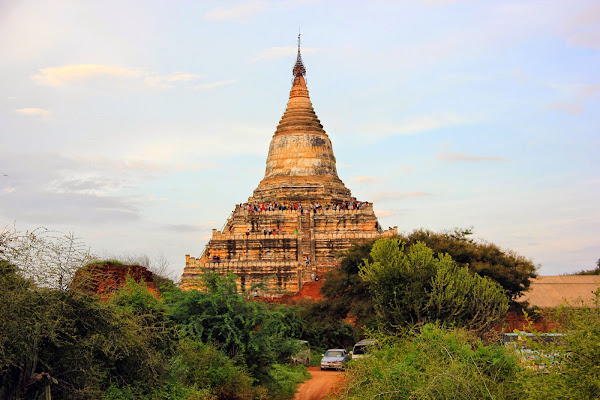 Pagoda Shwe San Daw de Bagan
