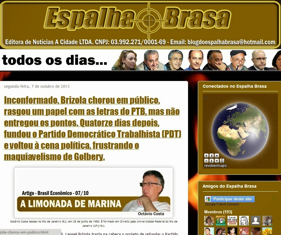 Blog do Espalha Brasa