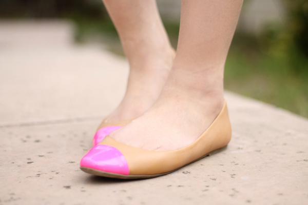 pink flats forever21