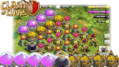 Cara Cepat Banyak Gold Elixir di Clash of Clans