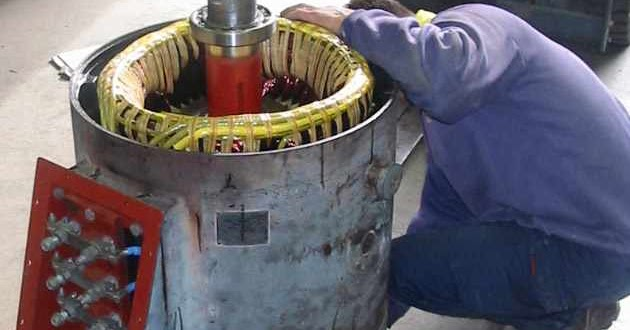 Engineering Photos Videos And Articels  Engineering Search Engine   Burnt 175 Hp Hebco Motor