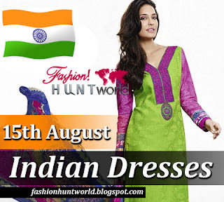 15th August Indian Dresses 2015