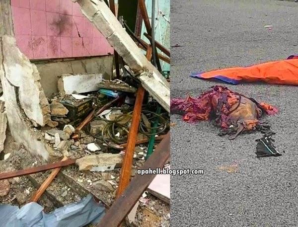 Letupan di Gurun, Kedah Kemungkinan Bom (24 Gambar)