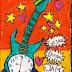 "Lukisan Majesty : ""Gitar Jam Listrik"""