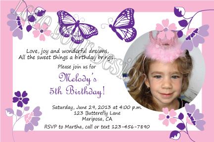 LynnetteArt Monarch butterfly party invitation and water bottle – Butterfly Party Invitation