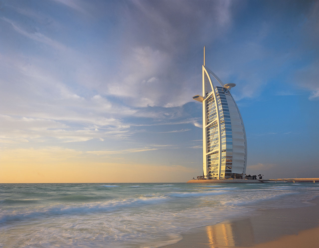Burj al arab dubai tourist destinations for The sail hotel dubai