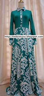 maxi-dress-murah-hijau