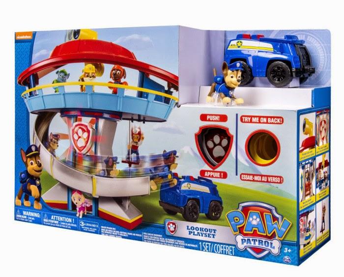 JUGUETES - Paw Patrol : La Patrulla Canina  Look-out Playset | Puesto de Vigilancia Toys | Producto Oficial Serie Televisión | Spin Master A partir de 3 años