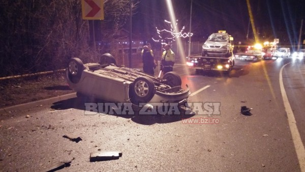 Accident In Iasi Bucium FOTO