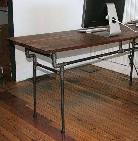 inspiring esby diy industrial desk