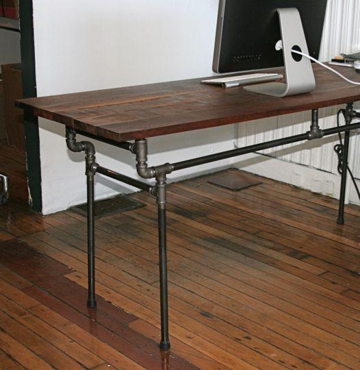 Inspiring Esby DIY Industrial Desk
