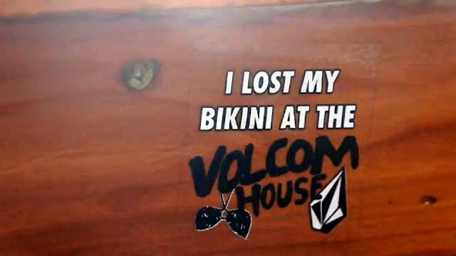 I lost my bikini at de Vocom House