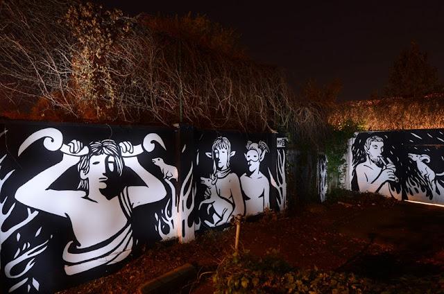 """Panismo"" New Street Art Piece By Italian Artist MP5 In Torino. 1"