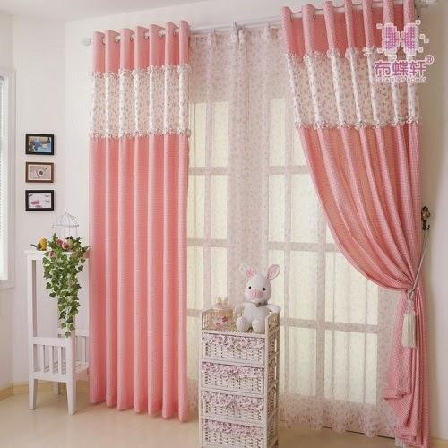 Décoration rideaux bébé fille - Bébé et décoration - Chambre bébé ...