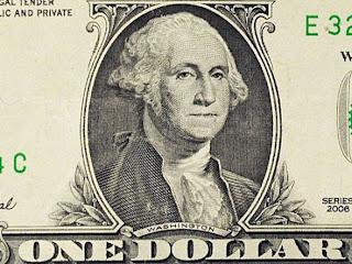 Foto da Nota de 1 Dólar
