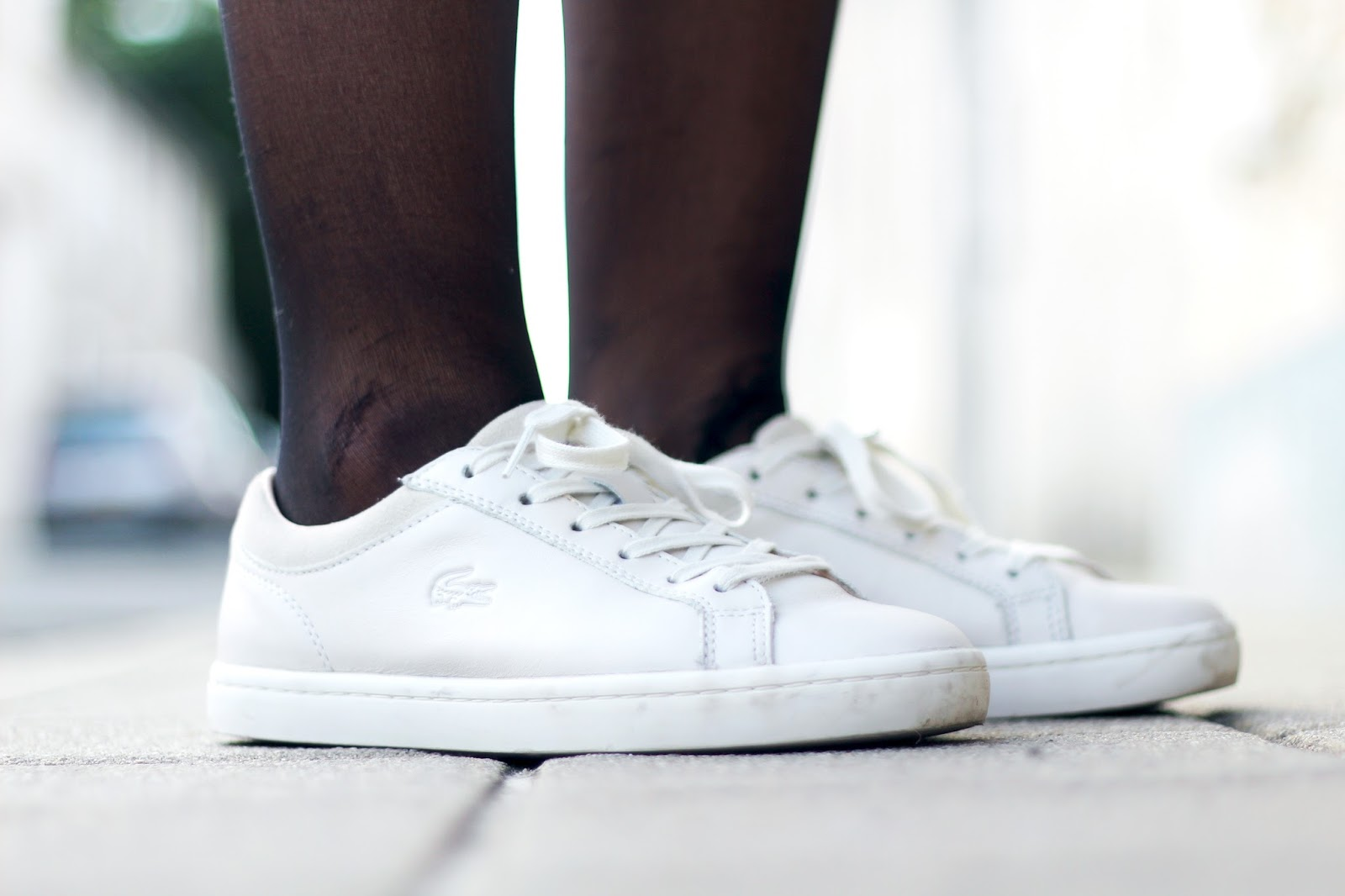 Lacoste sneakers Straightset blanches