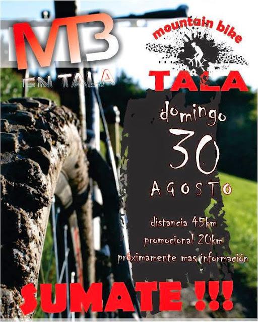 MTB en Tala (Canelones, 30/ago/2015)