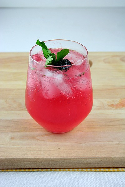 Scarborough FoodFair: Cheers to Mom--With a Blackberry Lemon Gin Fizz