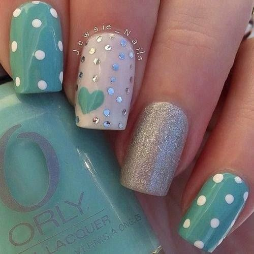 cute love nail polish designs for beginners