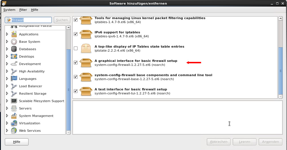 how to start firewall in centos7
