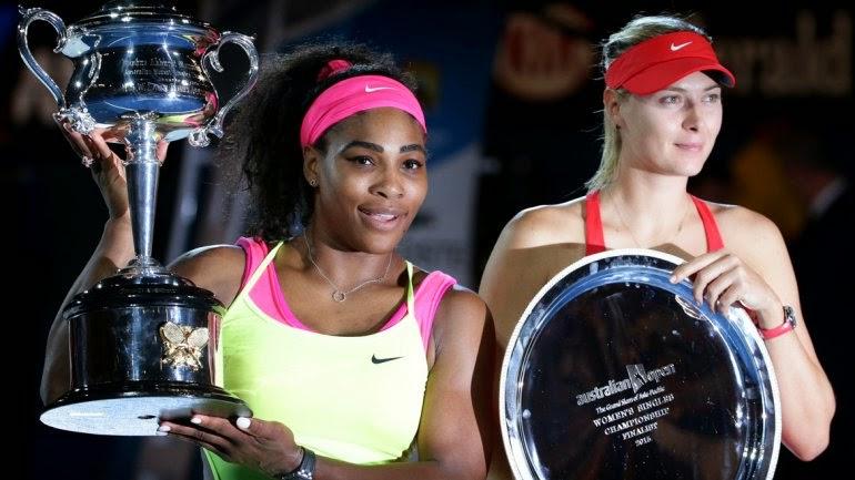 Williams, Sharapova, Abierto de Australia