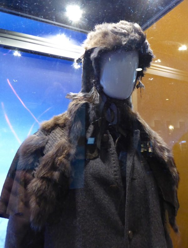 Leonardo DiCaprio The Revenant costume detail
