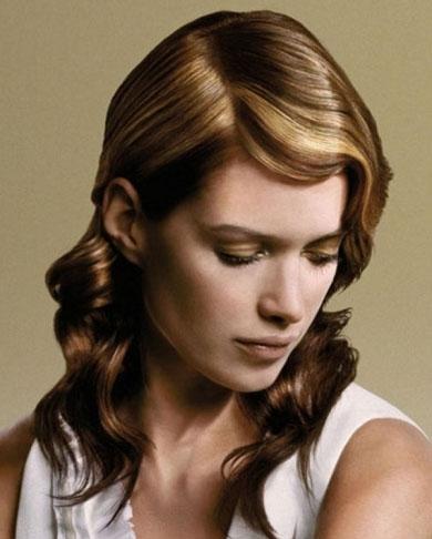 Chic Honey Hair Highlights