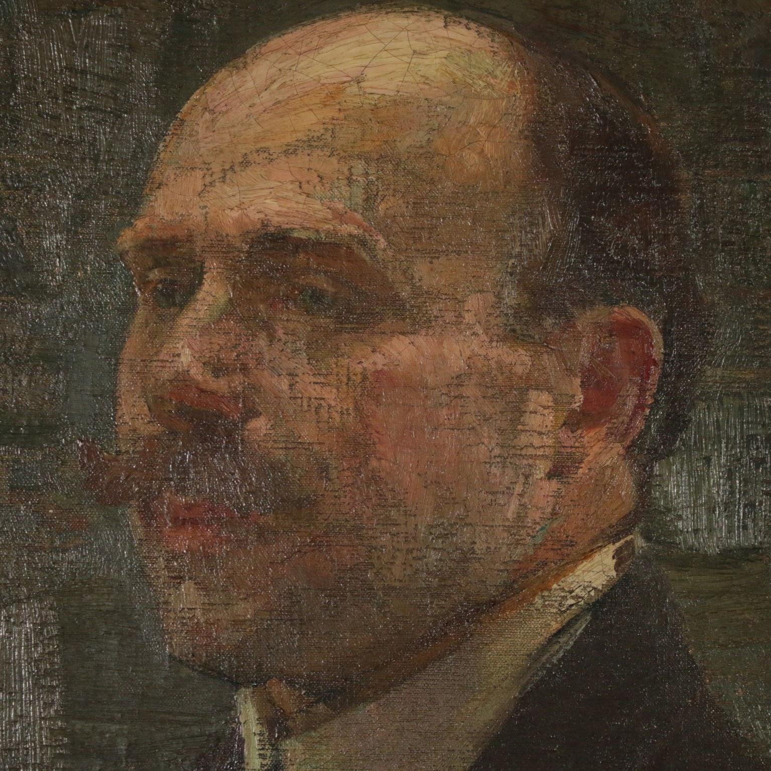 Alessandro Milesi Ritratto  maschile