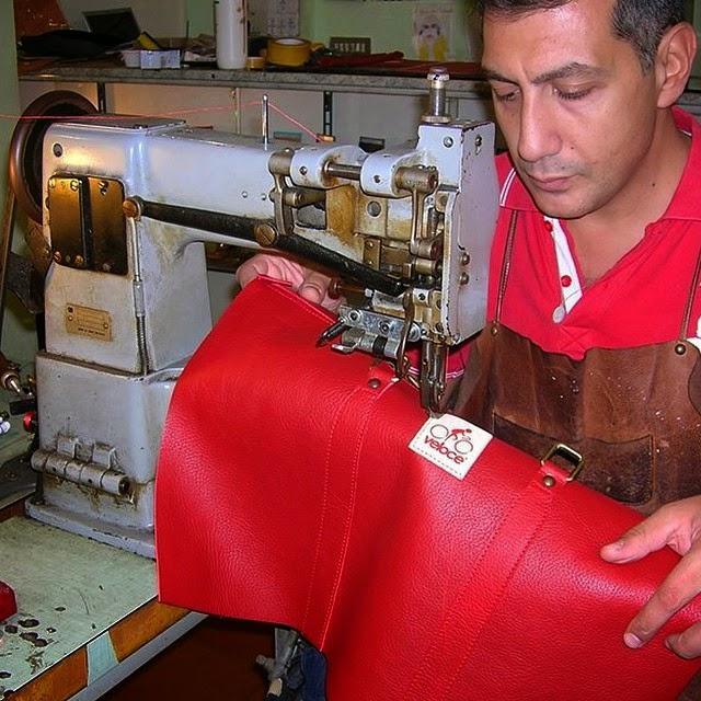 velodromo veloce travel bag craftmade in italy