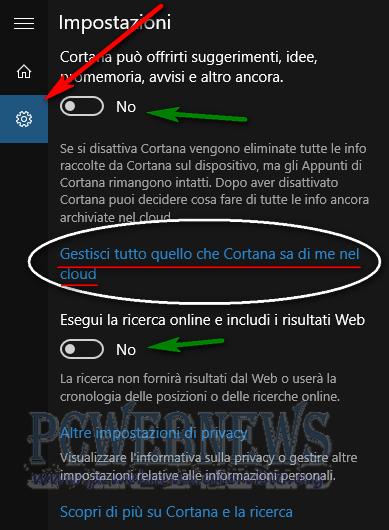 Windows10 e la privacy