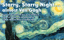 Youth Bridge Almost Van Gogh Art Event and Auction
