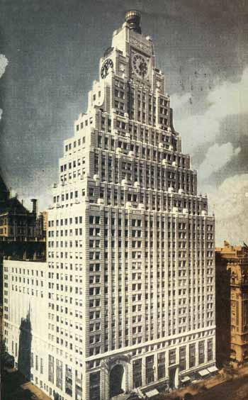 New York - History - Geschichte: Putnam and Paramount