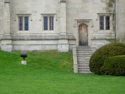 Trinity College Chapel Lower East Elevation