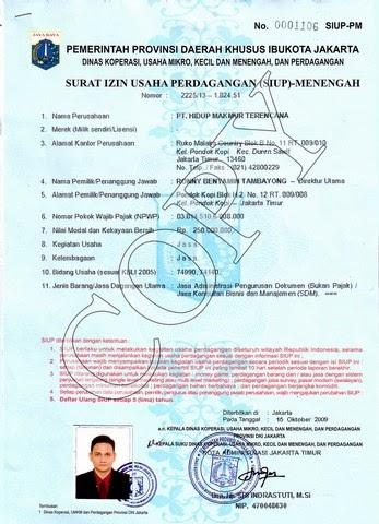 My File Siup Surat Izin Usaha Perdagangan