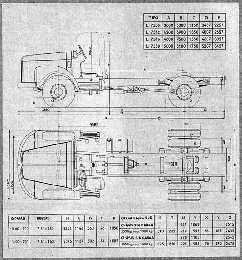Archivo de autos: Scania Vabis L-75 1962
