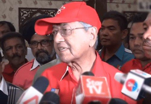 pesawat Tun Mahathir disabotaj